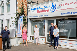 Carshalton Boilers Dedication During Lockdown