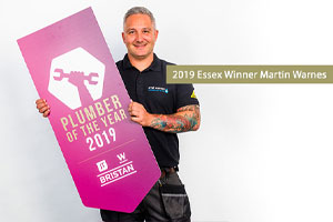 Martin Warnes From Essex Named 2019 Uk Plumber Of The Year