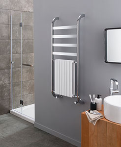 New Decor Harmonique Radiator Towel Warmer by Vogue (UK)