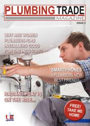 Plumbing Trade Magazine front cover image