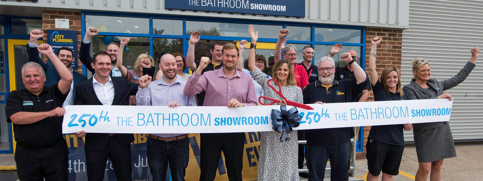 Linda Barker Opening 250th 'The Bathroom Showroom'