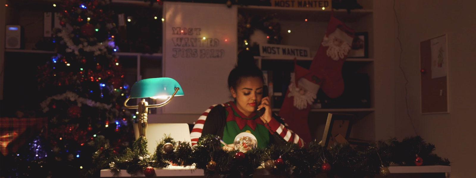 Lacey Plumbing Christmas Ad Still