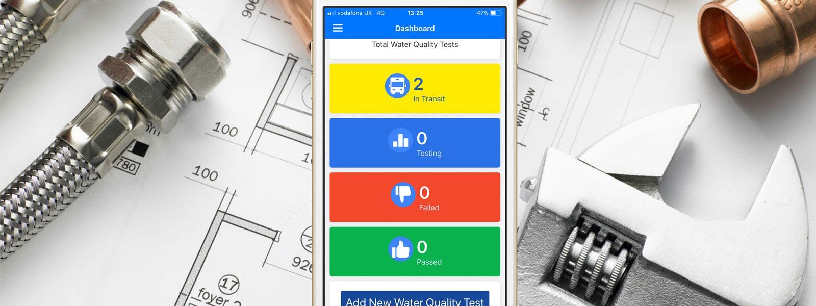 New Fernox Water Quality Test App