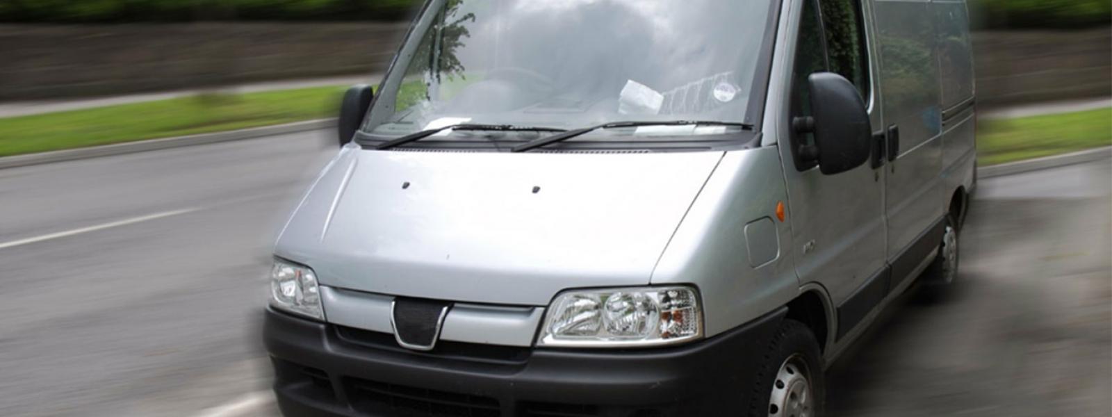 A silver van – laws van drivers need to know