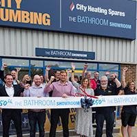 Linda Barker Opening 250th 'The Bathroom Showroom'