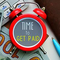How to get paid on time