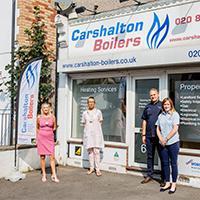 Carshalton Boilers Dedication During Lockdown