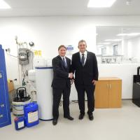 CIPHE President Visits Fernox Head Office And CIPHE Approved Training Centre