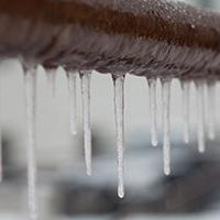 frozen and burst pipes in winter