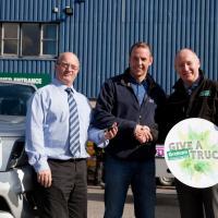 Bristol plumber scoops brand new truck courtesy of Graham