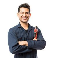 self-employed plumber