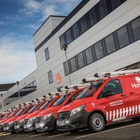 Mercedes-Benz vans hit the HomeServe run