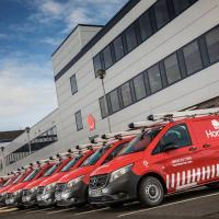 Mercedes-Benz vans hit the HomeServe run