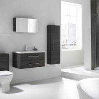 Scandi-style Storage from the Pure Bathroom Collection