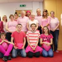 Inta raises over £1,000 by turning pink for Breast Cancer Now