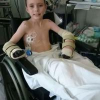 Alpha gives away boiler in fundraiser for eight year old boy with Meningitis