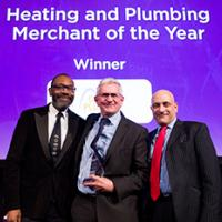 City Plumbing at Award Ceremony