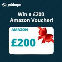 Enter the Joblogic prize draw to WIN a £200 Amazon voucher!