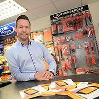 John from Flame Heating happy about awards success