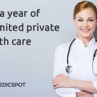 Win a year of unlimited private healthcare with MedicSpot