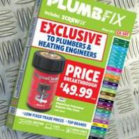 More 'Trade Rated' products than ever before in latest Plumbfix catalogue
