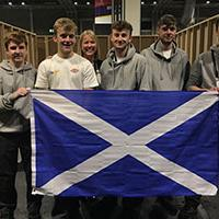 award-winning apprentices on World Plumbing Day