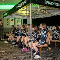 Polypipe's fledgling female cycling team
