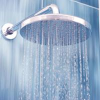 Shower water pressure