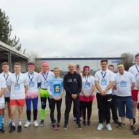Superior apprentices run The Extra Mile for Julia's House