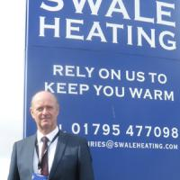 International HR David Bellis expert comes to Swale Heating, Kent