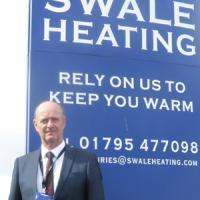 International HR David Bellis expert comes to Swale Heating, Kent