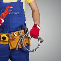 A plumber from Polypipe Building Services