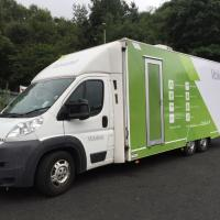 The Vokèra trade vehicle is on the road again