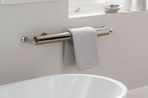 'Vacation Vibes' with R70 Towel Warmer by Aestus